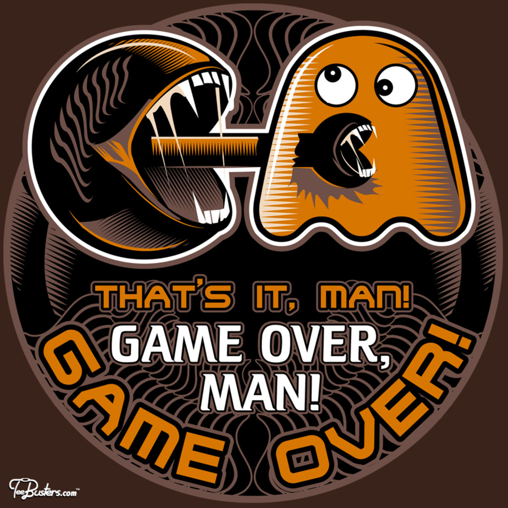 TeeBusters: Game Over, Man!