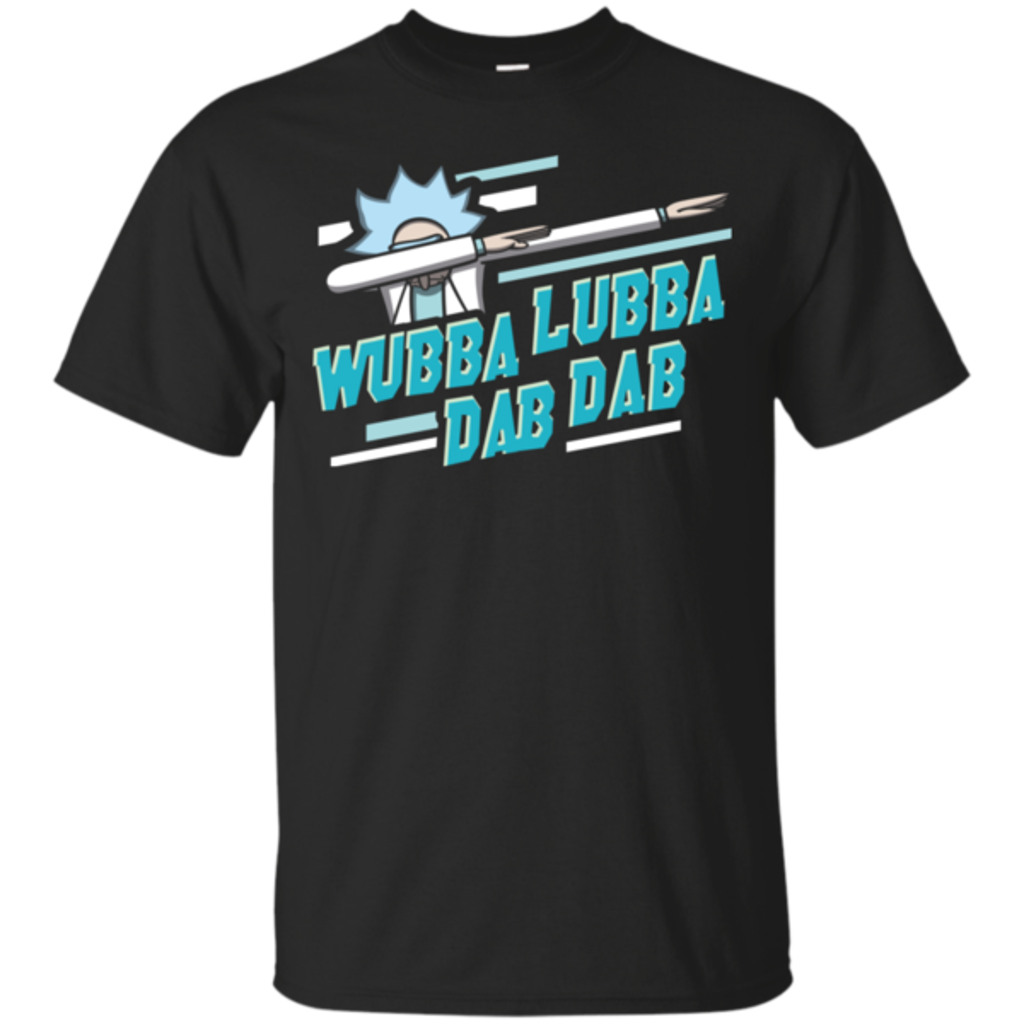 Pop-Up Tee: Wubba Lubba Dab Dab