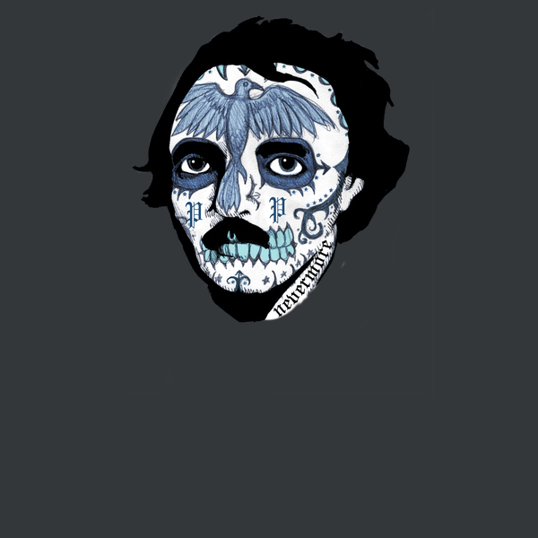 NeatoShop: Edgar Allen Sugar Skull