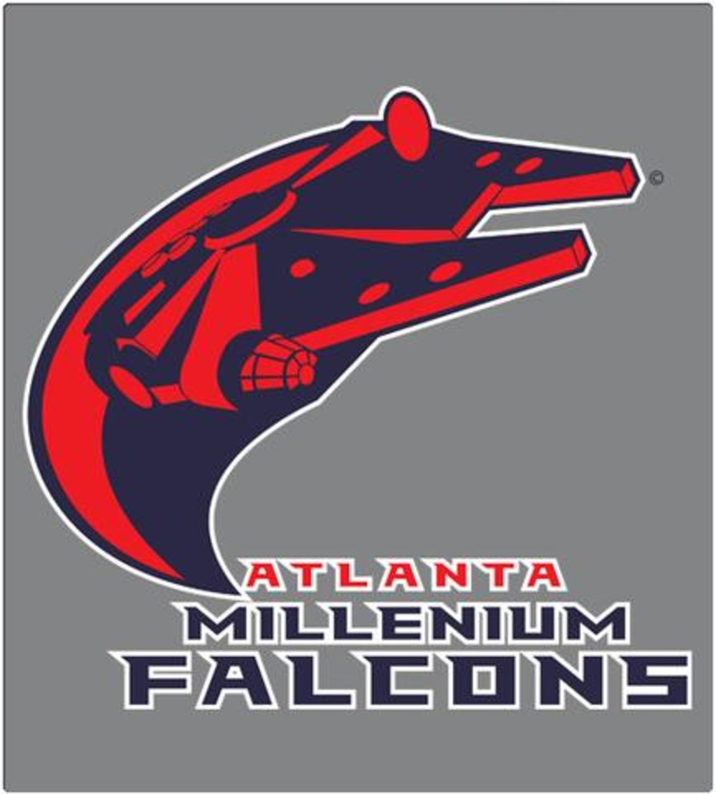 Shirt Battle: Millenium Falcons