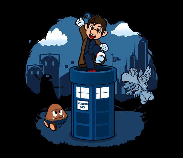 TeeFury: Super Timelord