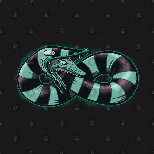 TeePublic: Infinity Worm
