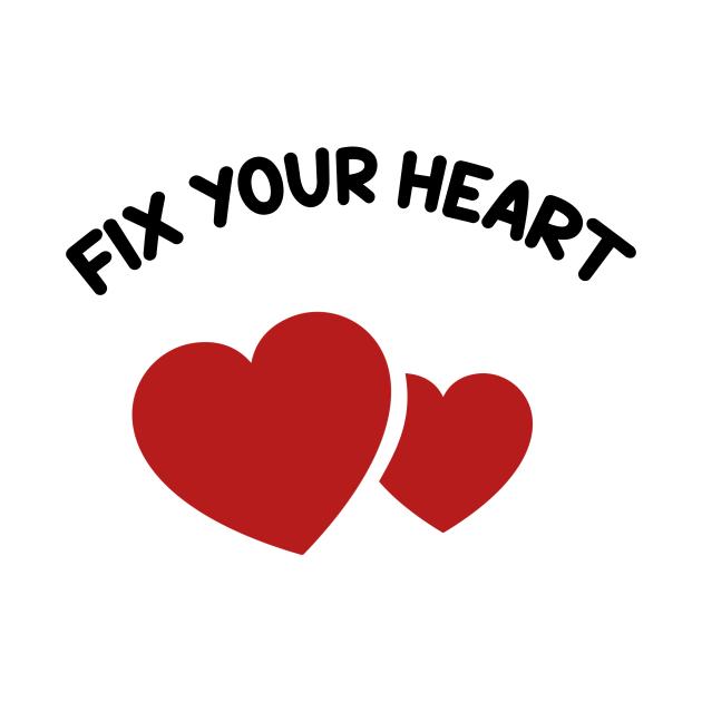 TeePublic: Fix Your Heart America fix your heart american flag