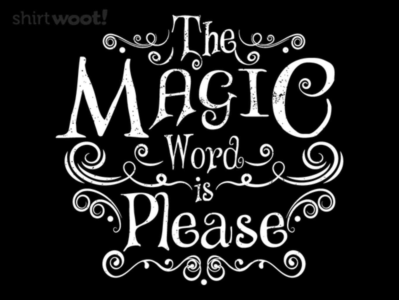 Woot!: Magic Word