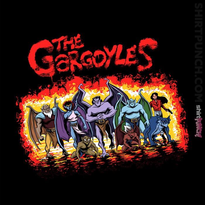 ShirtPunch: The Gargoyles