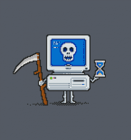 BustedTees: Blue Screen of Death