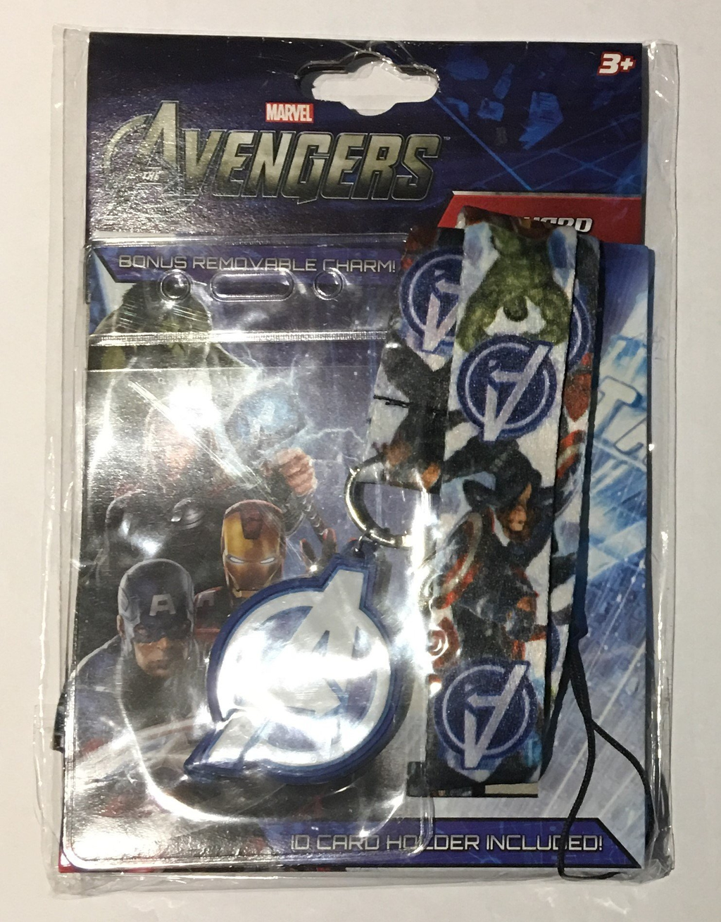 Pop Vulture: Avengers Lanyard with ID Cardholder