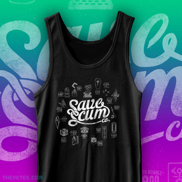 The Yetee: Save Scum Co. Tank Top