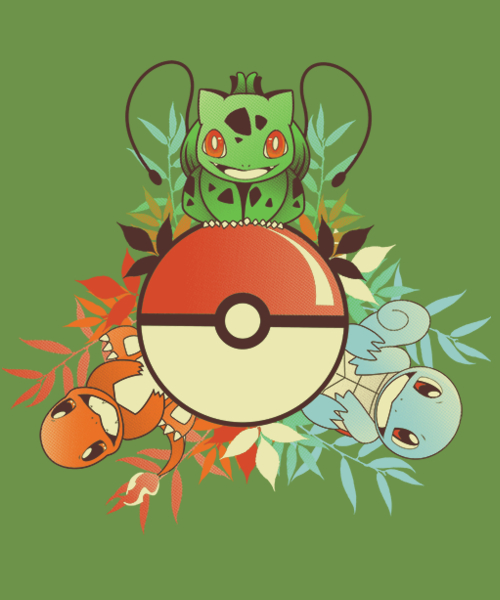 Qwertee: I Choose You!