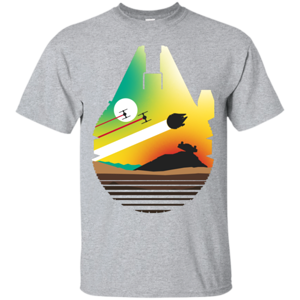 Pop-Up Tee: Escape from Desert Planet