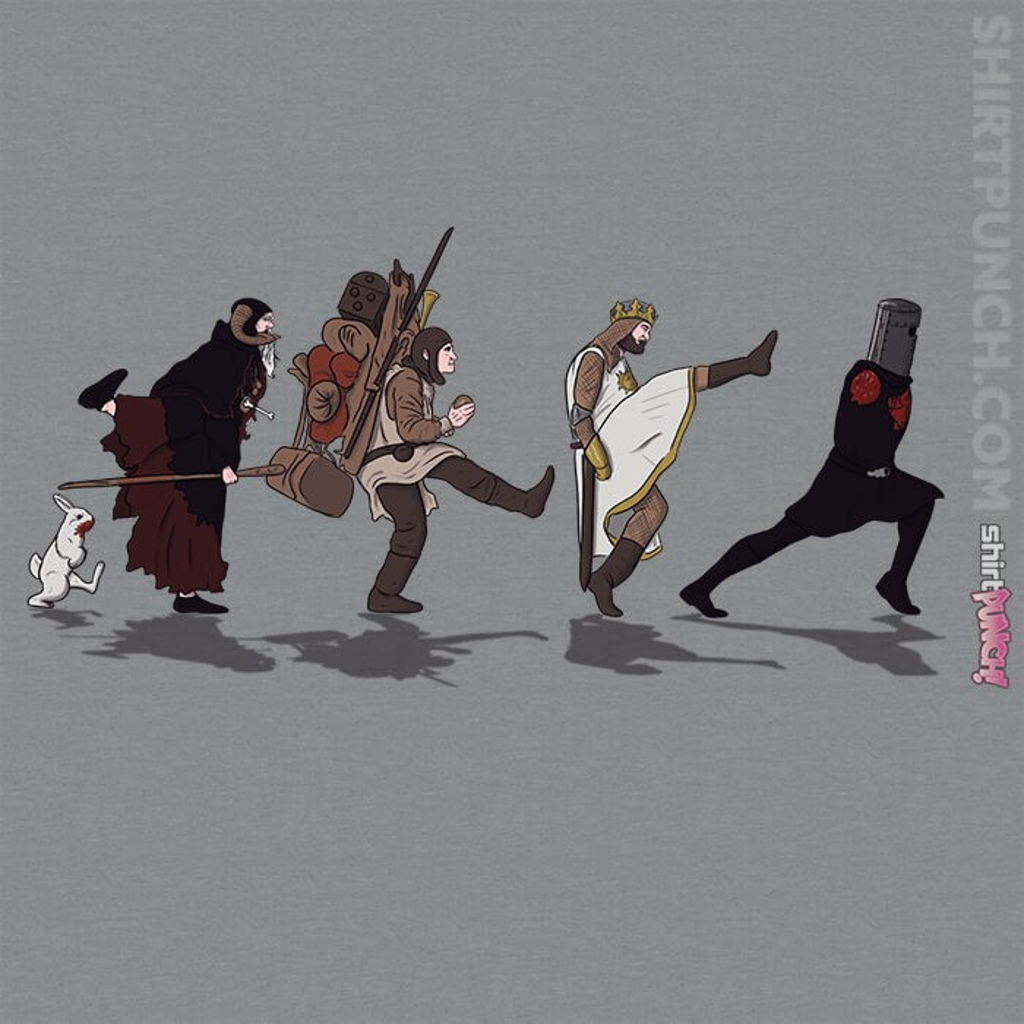 ShirtPunch: The Quest For The Silly Walk