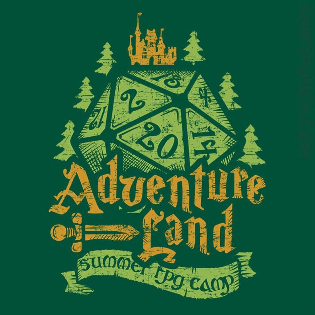 ShirtPunch: Adventureland Summer RPG Camp