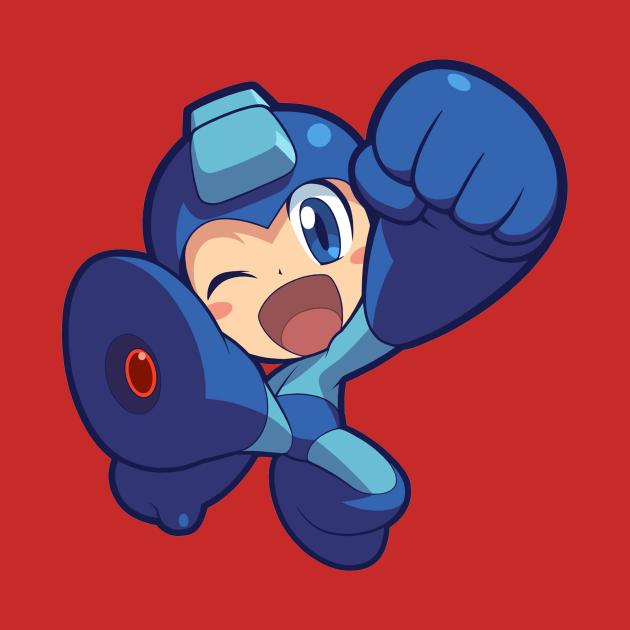 TeePublic: Mega Man