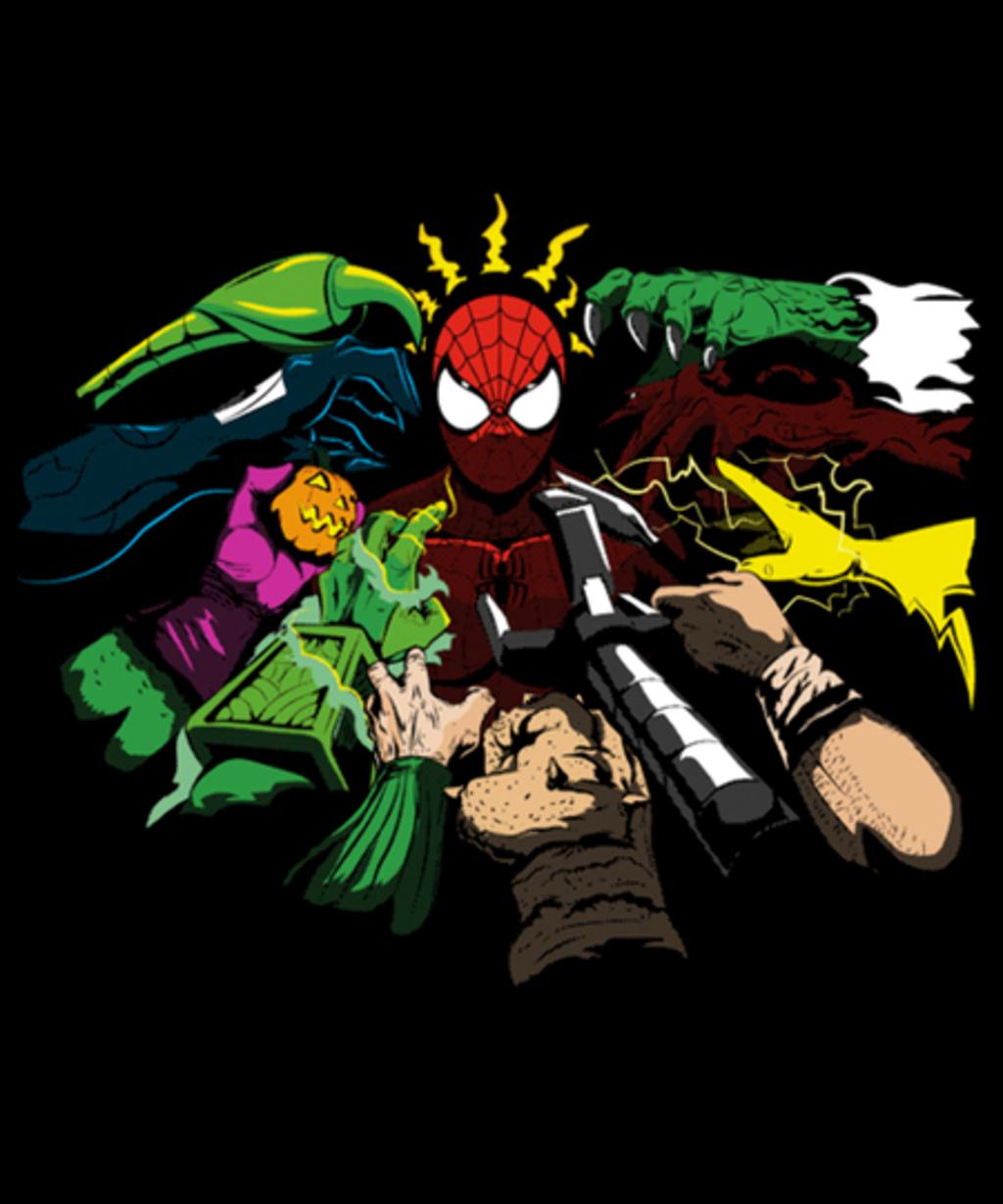 Qwertee: Spider-Yaga