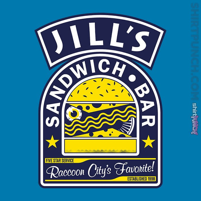 ShirtPunch: Jill's Sandwich Bar