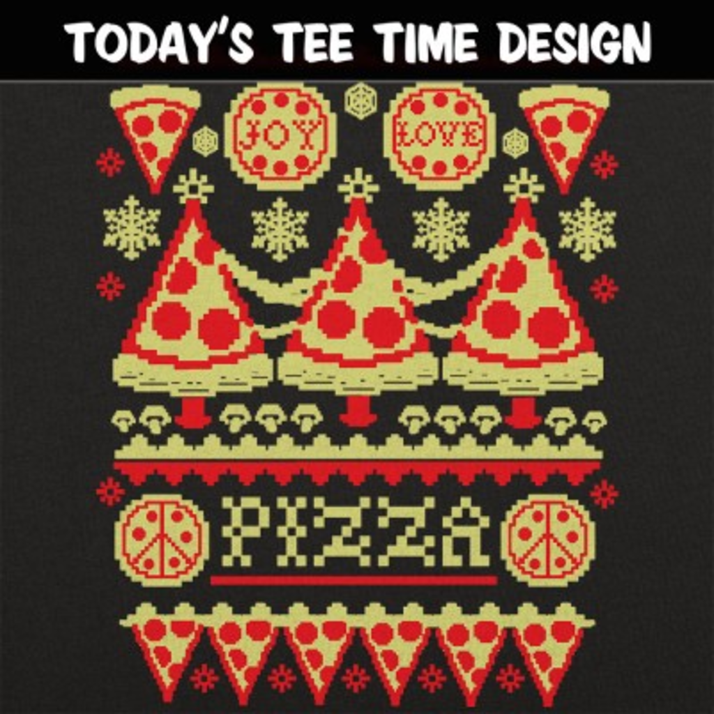 6 Dollar Shirts: Ugly Pizza Sweater