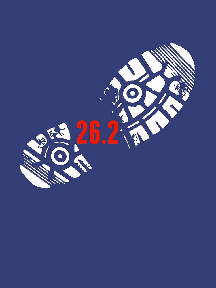 RedBubble: 26.2 Run Marathon t-shirt