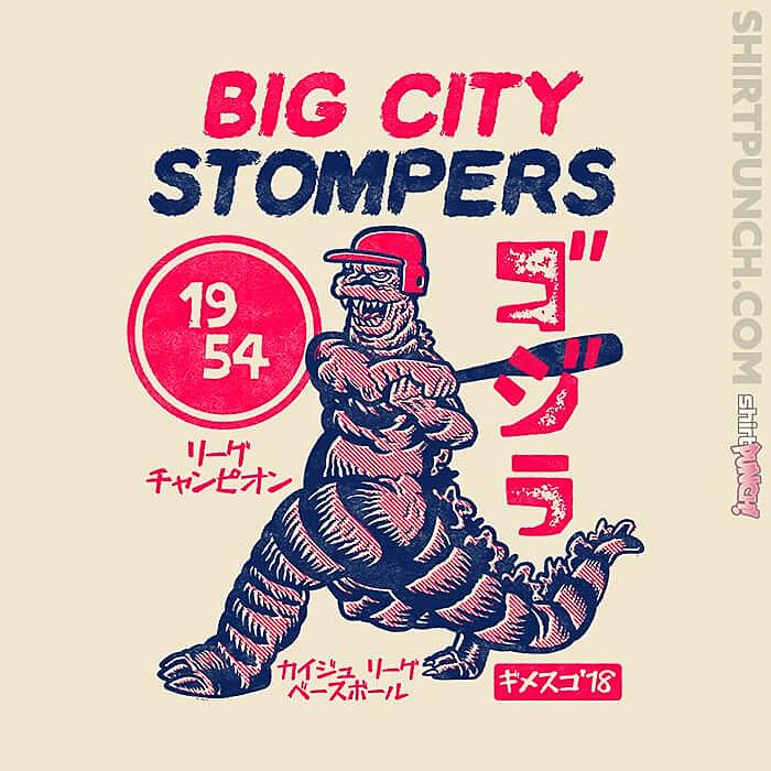 ShirtPunch: Big City Stompers