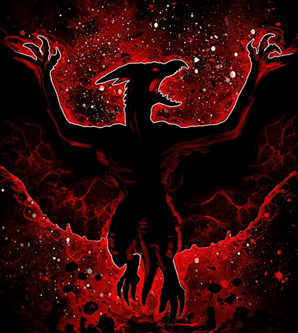 teeVillain: Fiery Anger
