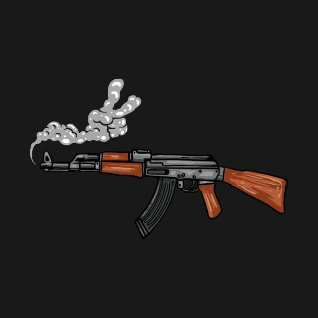 TeePublic: AK PEACE