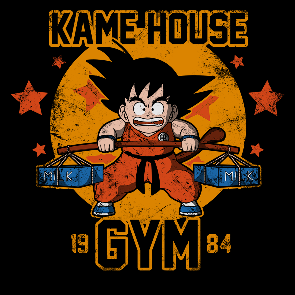 Pop-Up Tee: Kame House Gym