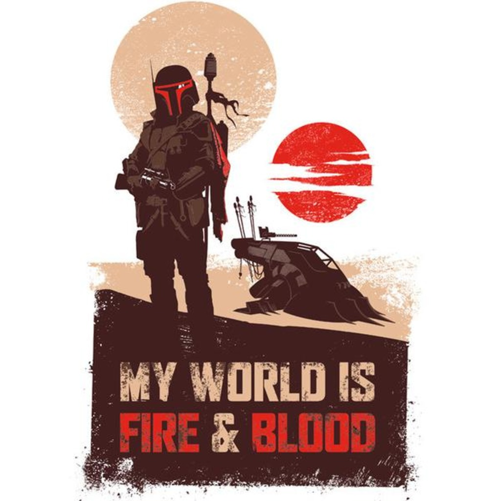 Tee11: My World Is Fire & Blood