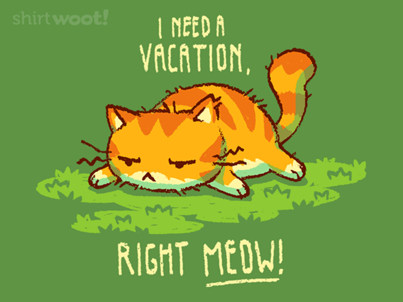 Woot!: I Need A Vacation!