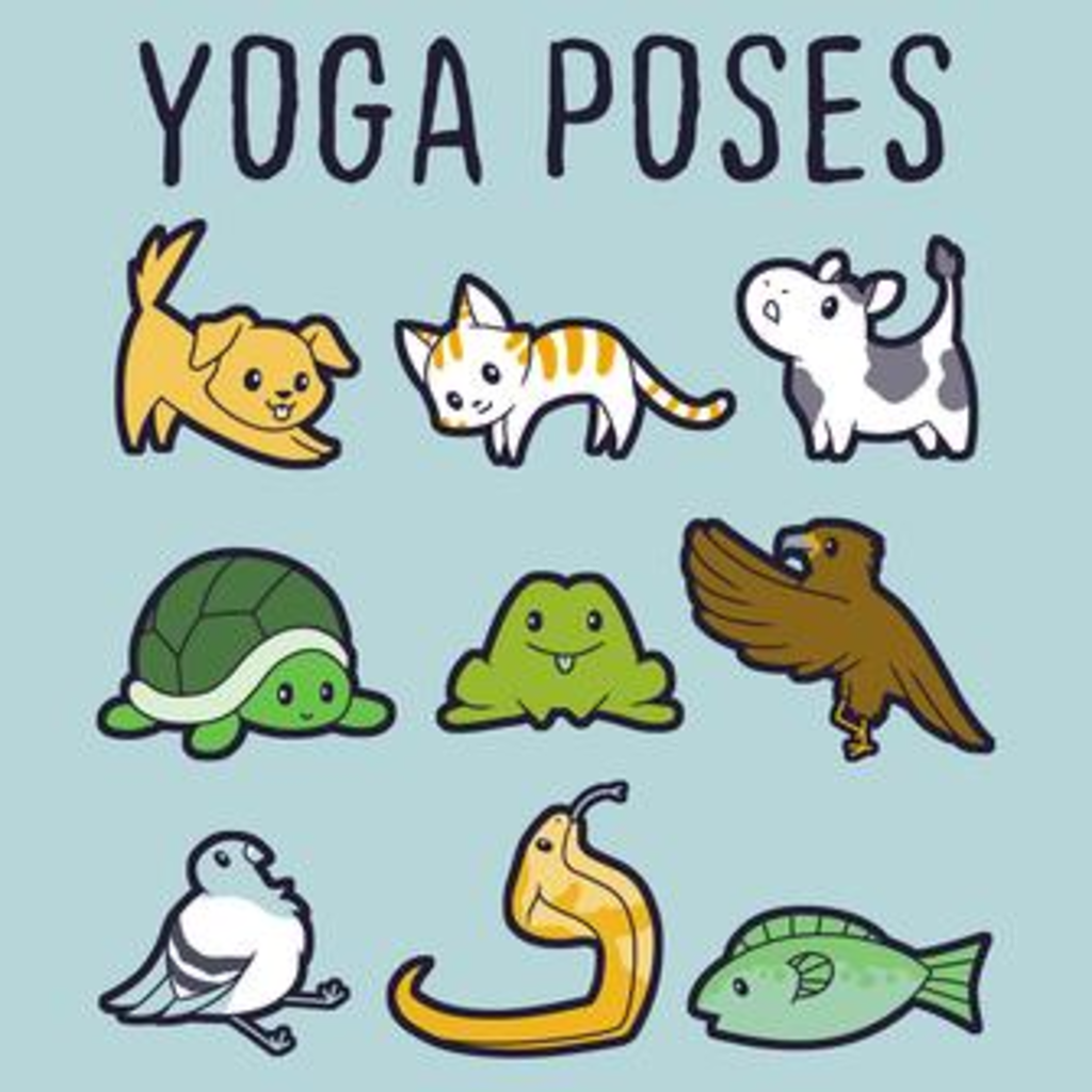 TeeTurtle: Yoga Poses