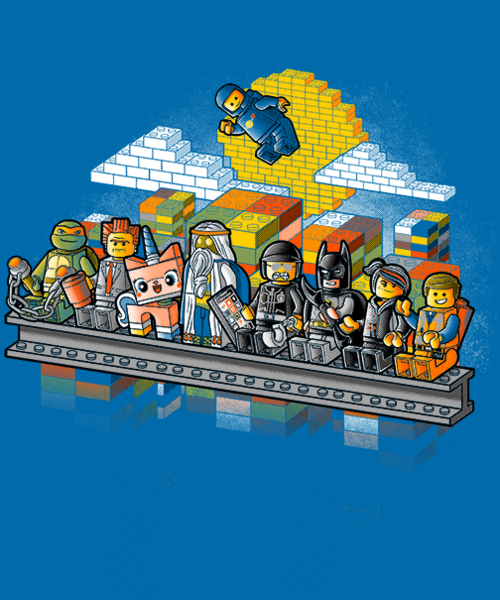 Qwertee: Lego workers
