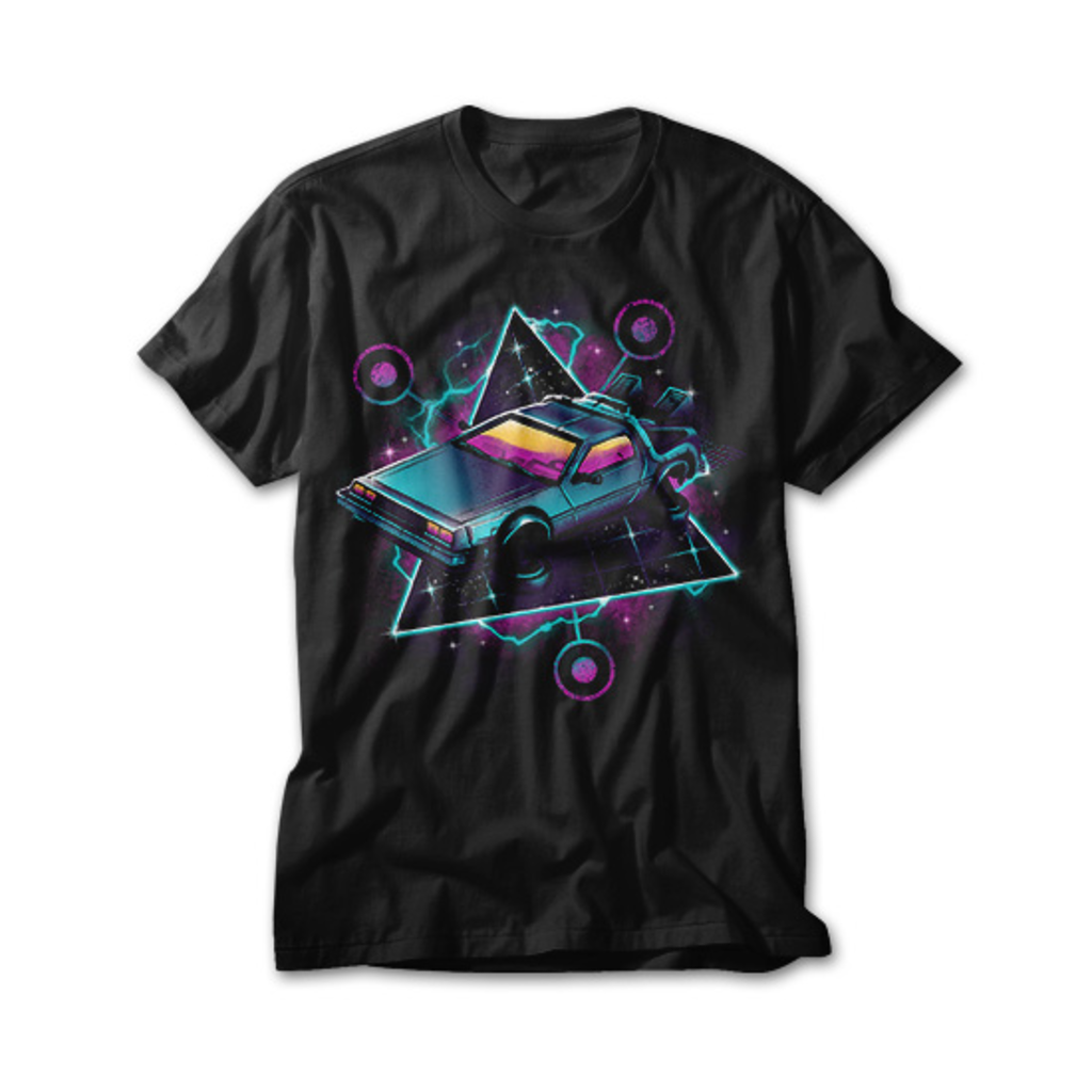 OtherTees: Retro Wave Time Machine
