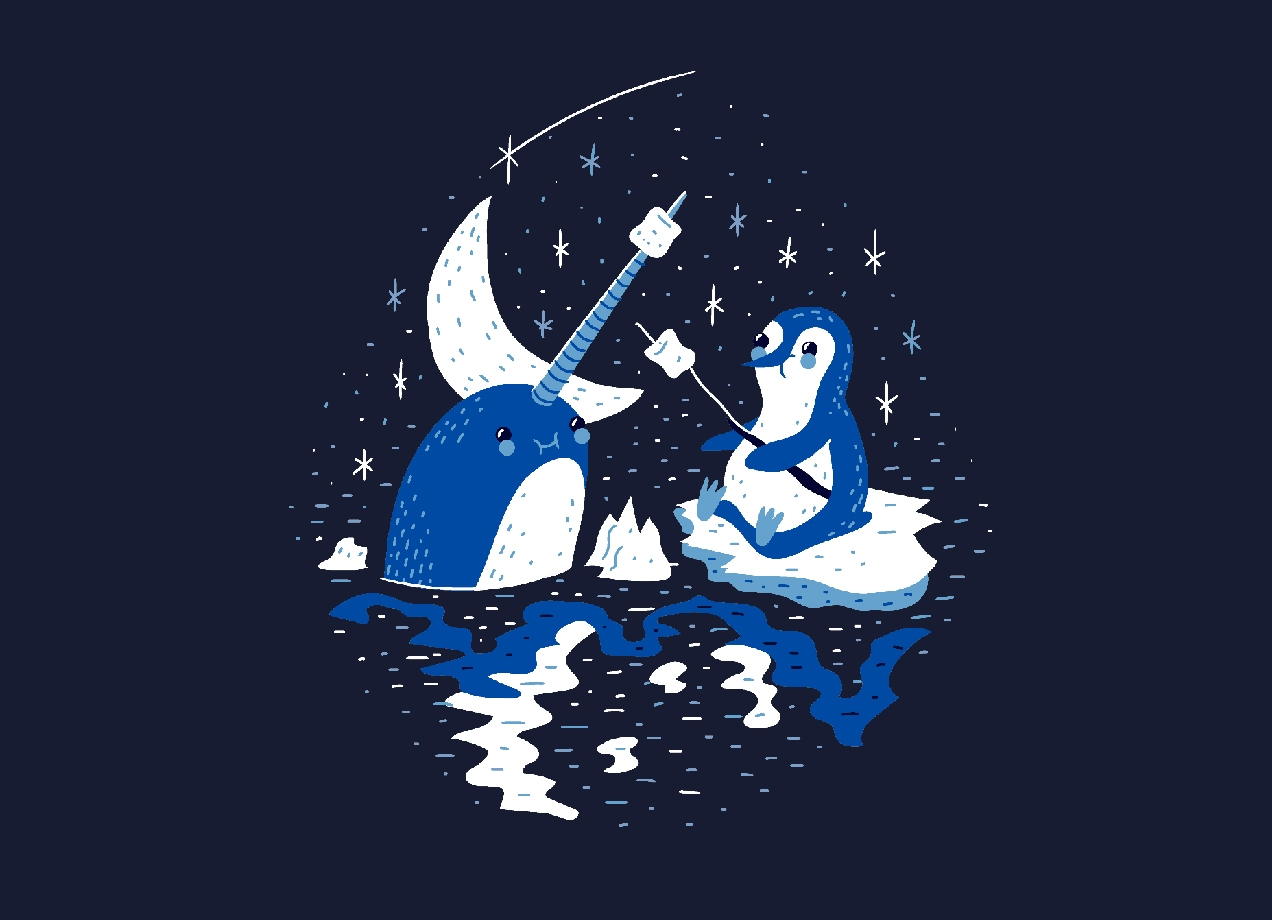 Threadless: Frozen Fire