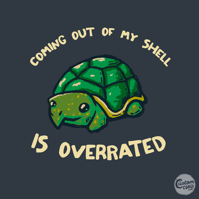 Wear Viral: Coming Out Of My Shell