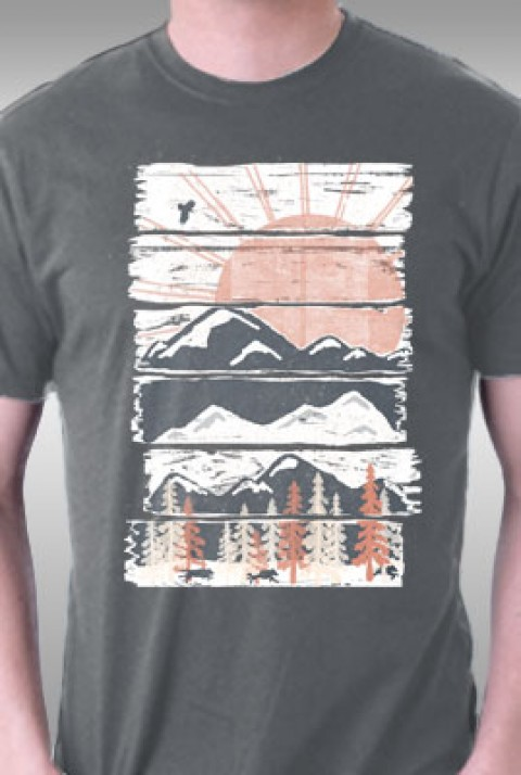 TeeFury: Winter Pursuits