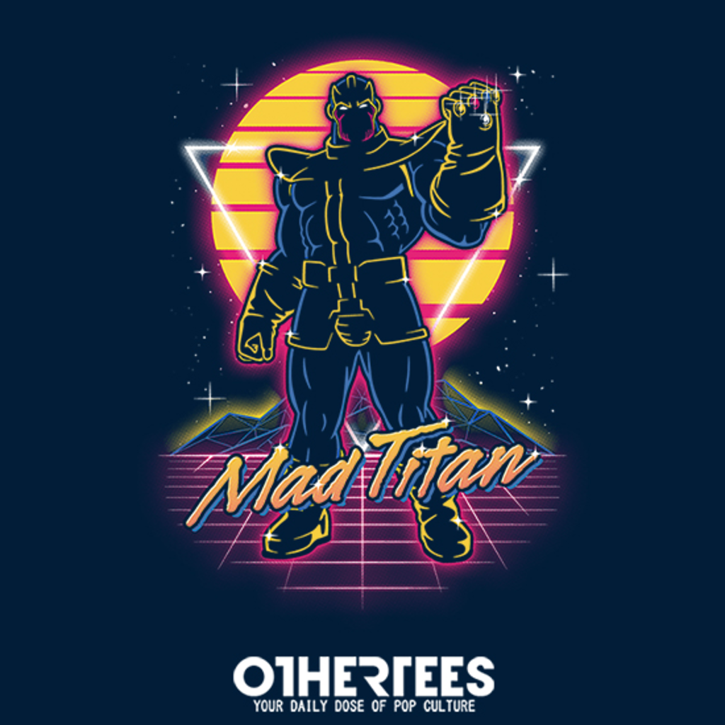 OtherTees: Retro Mad Titan