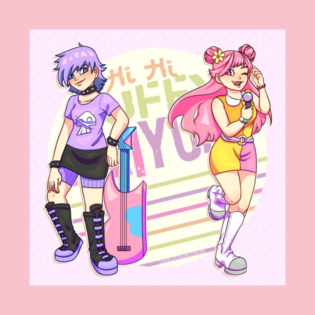 TeePublic: Hi Hi Puffy AmiYumi