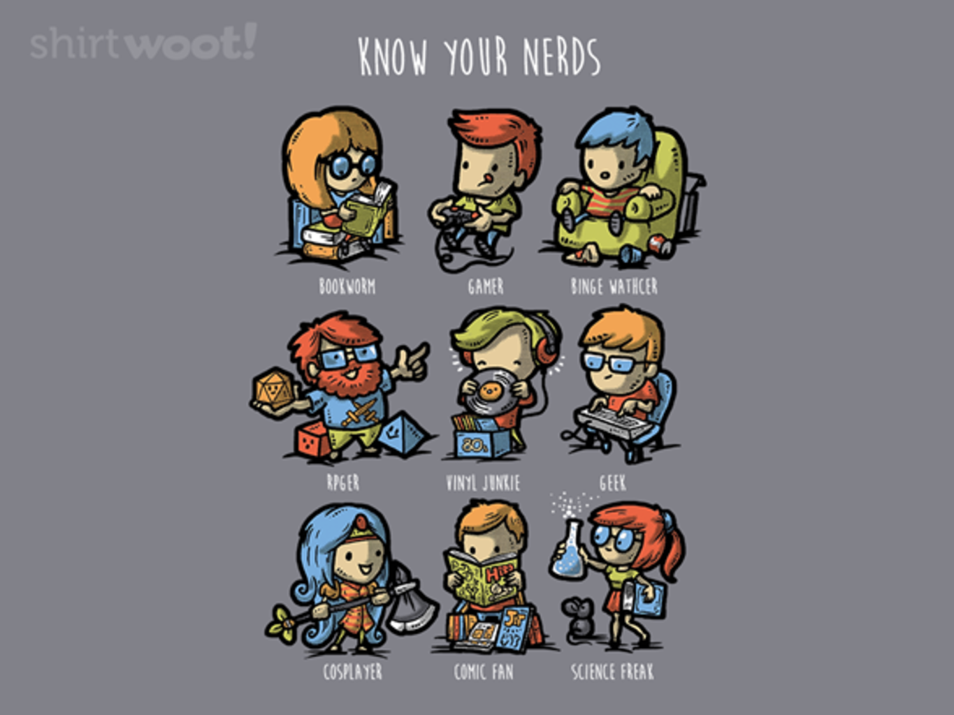 Woot!: Know Your Nerds