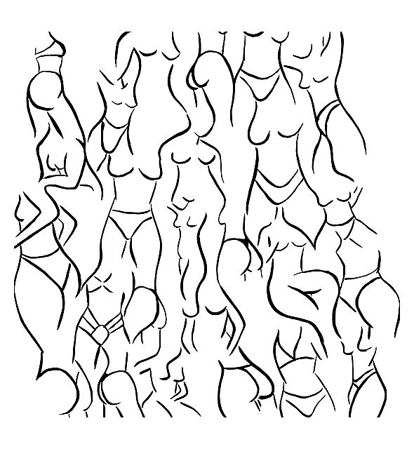 RedBubble: Nude for Thought