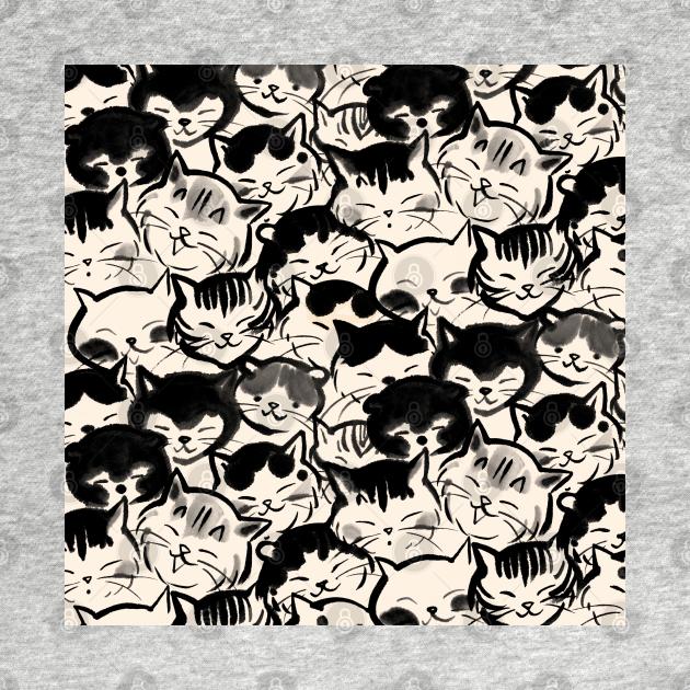 TeePublic: Happy cats faces