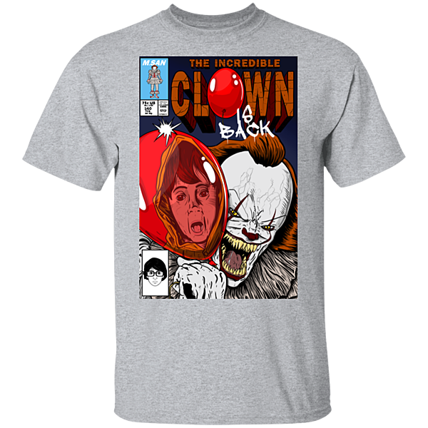 Pop-Up Tee: The Incredible Clown