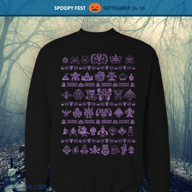 The Yetee: Spoopy Ghost Types