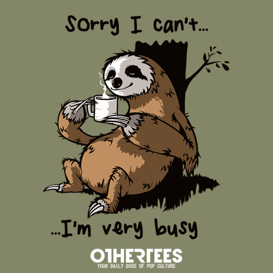 OtherTees: Very Busy