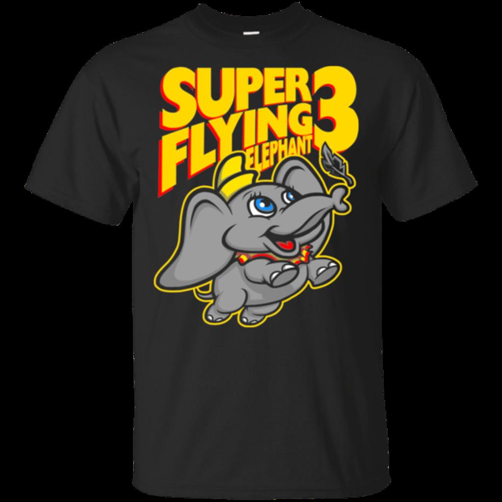 Pop-Up Tee: Super Flying Elephant