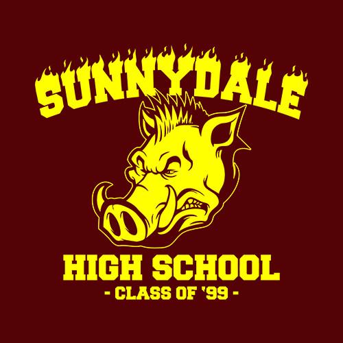 Five Finger Tees: Sunnydale High School T-Shirt