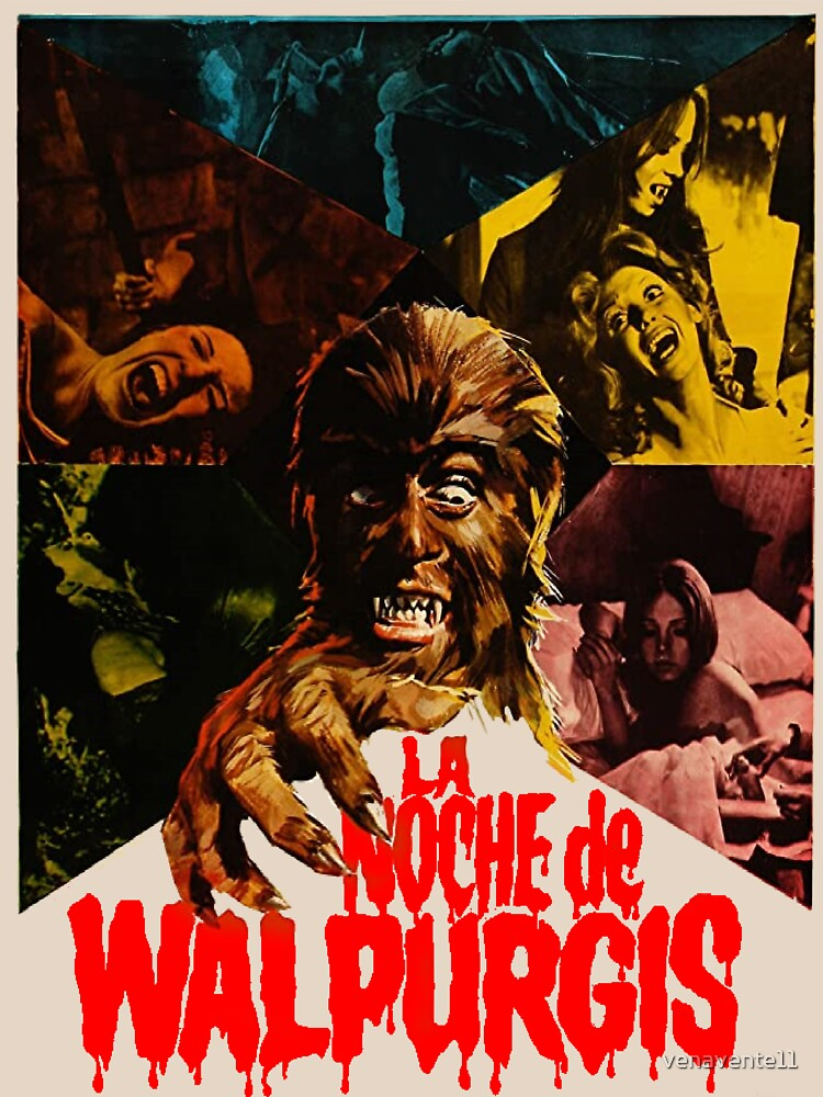 RedBubble: Walpurgis Night Shadow of the Werewolf