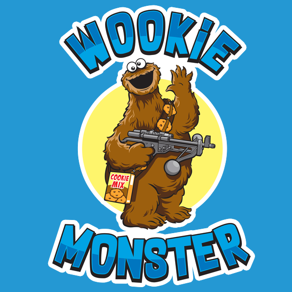 NeatoShop: Wookie Monster - Tall Design