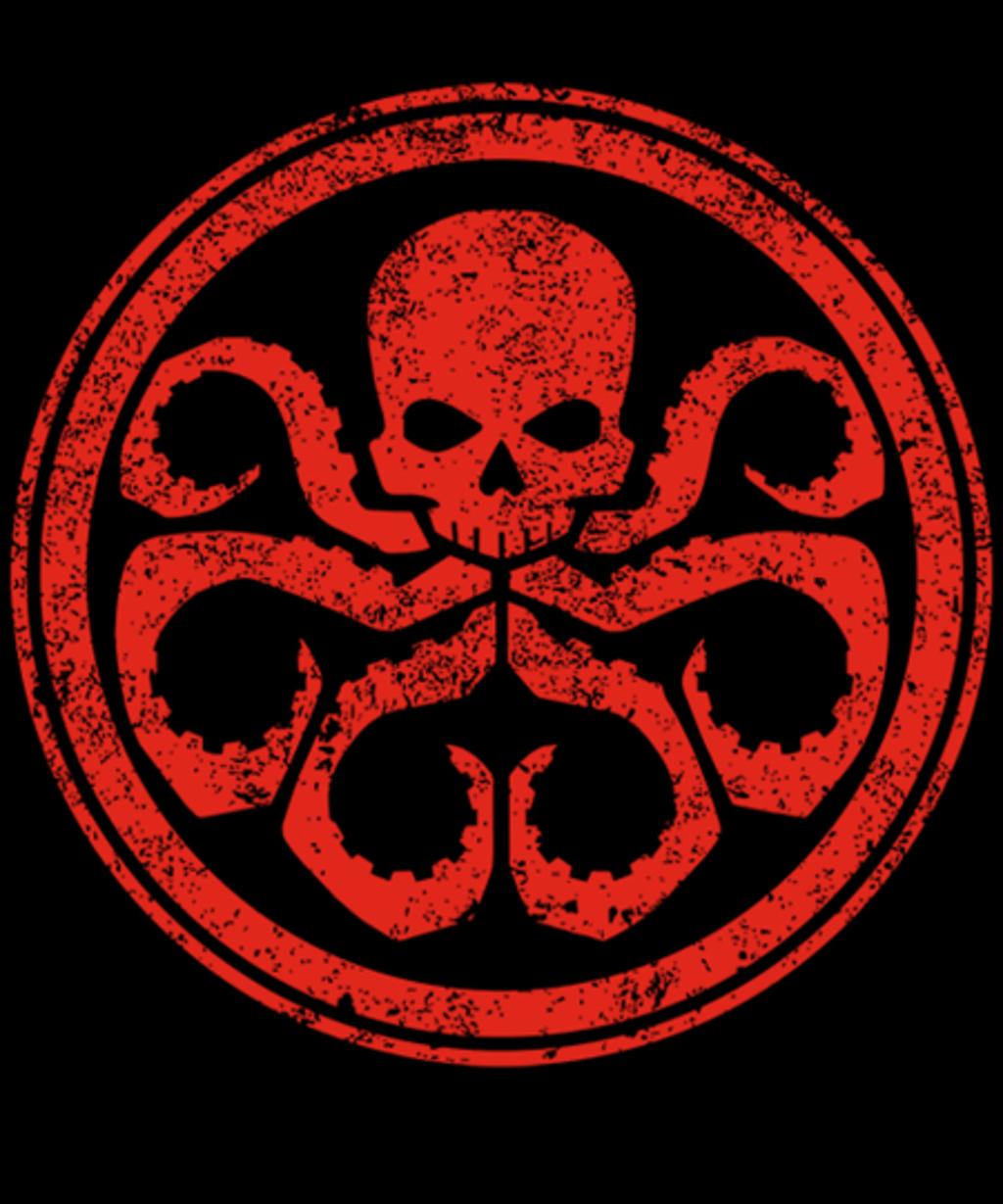 Qwertee: Hail Hydra!