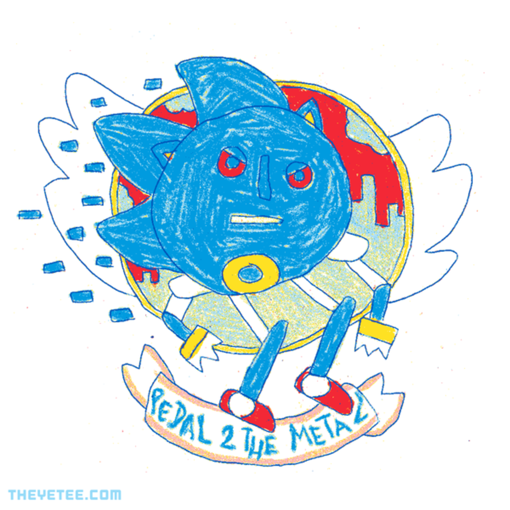 The Yetee: PEDAL 2 THE METAL!