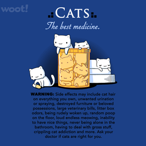 Woot!: Cats are the Best Medicine