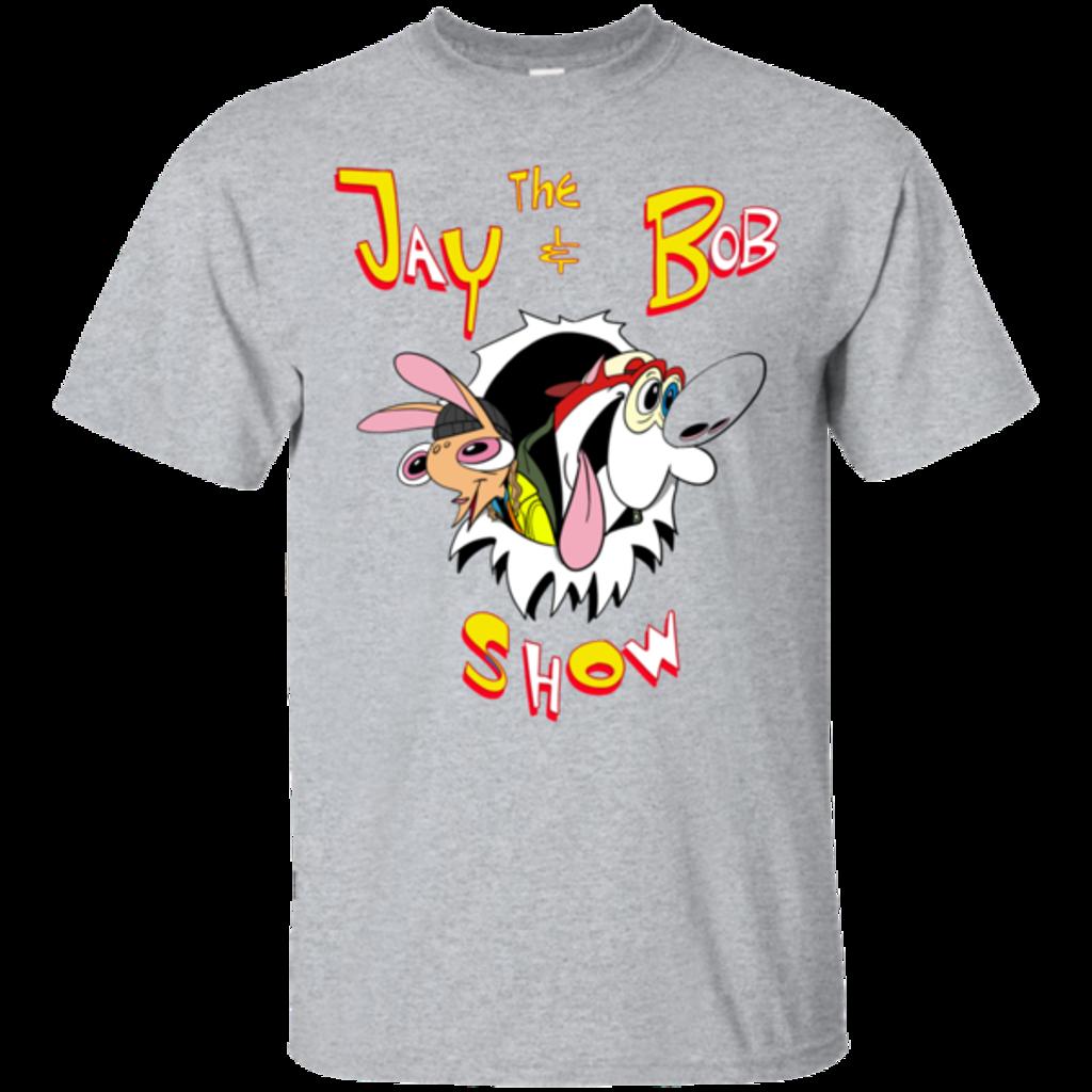 Pop-Up Tee: Jay & Bob