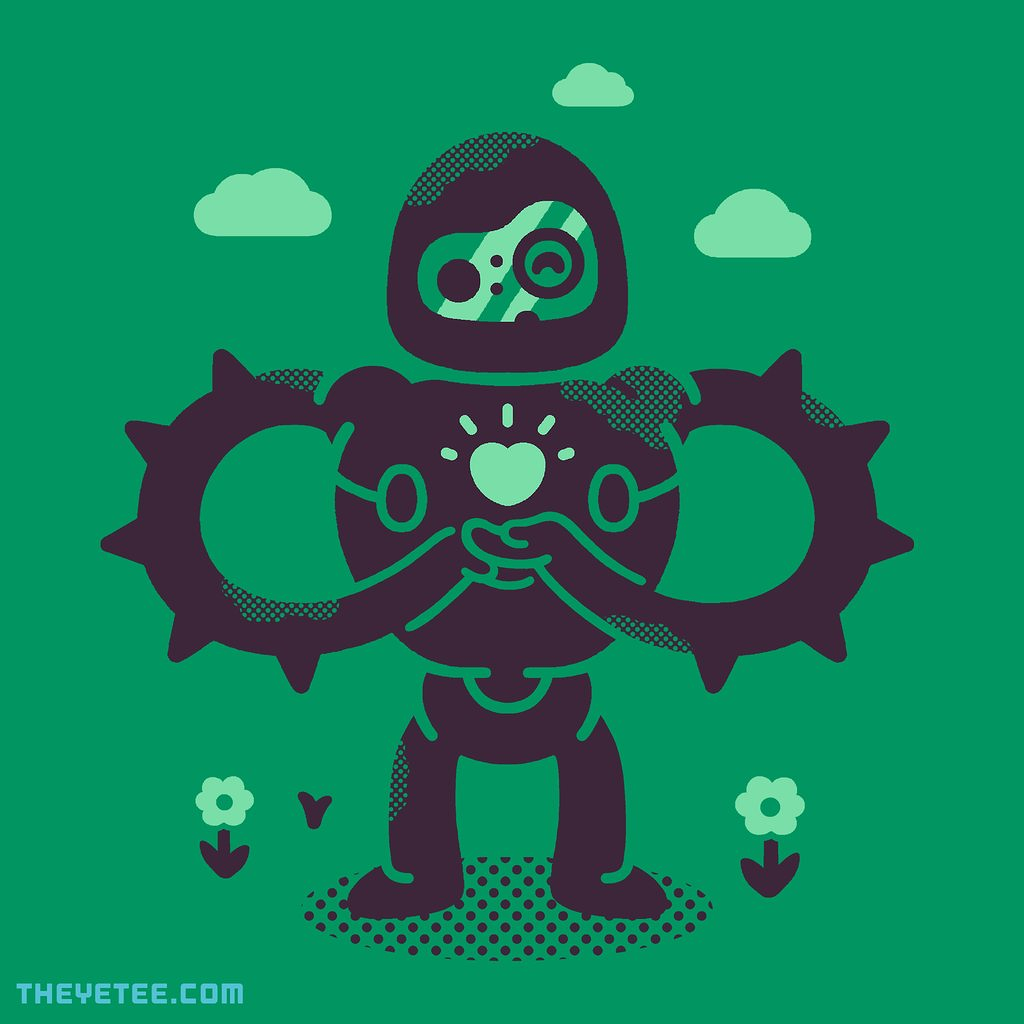The Yetee: Castle Robot